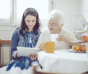 La atención de tus mayores