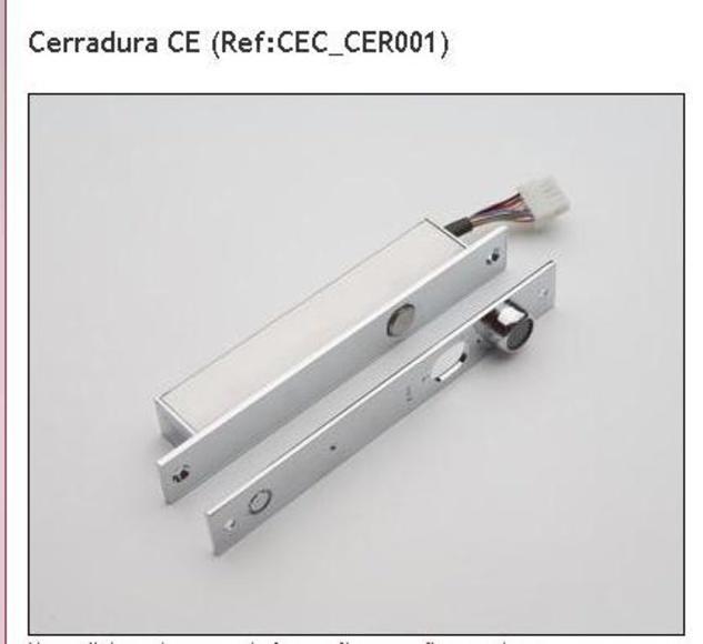 Cerraduras electronicas: Catálogo de Ra-Ba Cierres Eléctricos, S.A.