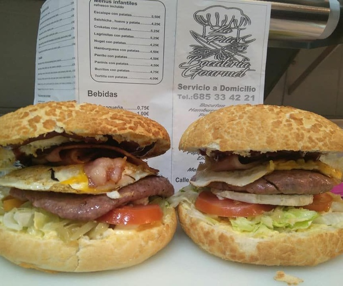 Hamburguesas: Carta de La Pitu Bocateria Gourmet