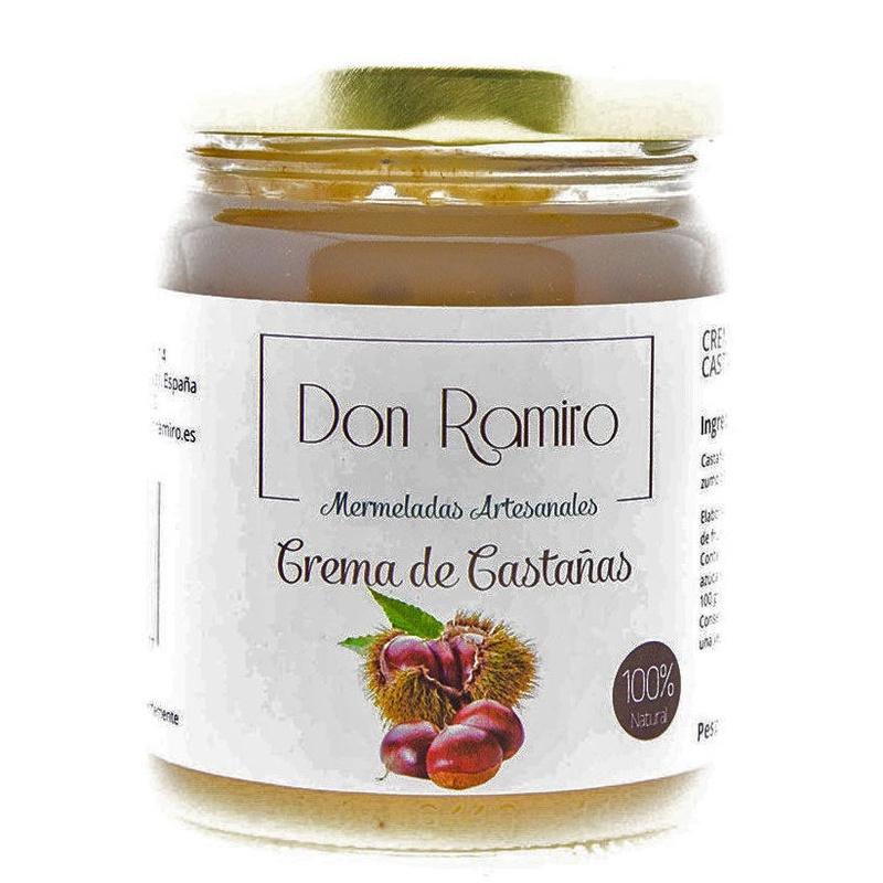 Crema de Castaña artesanal sin conservantes ni colorantes.