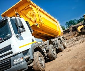 Expertos en el transporte de áridos y materiales de construcción