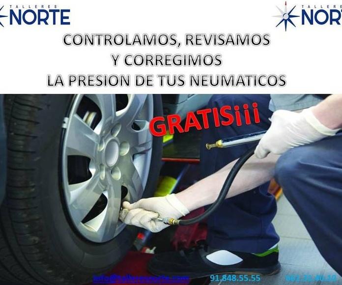Presión de neumáticos