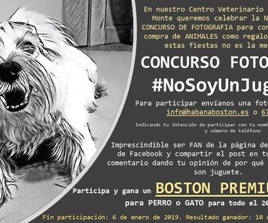 CONCURSO DE FOTOGRAFÍA #NoSoyUnJuguete