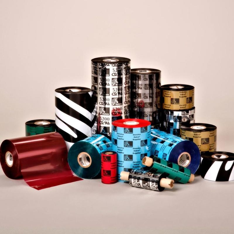 Cintas de Ribbon y Cartuchos Inkjet Color: Productos y Servicios de STGlobal - Identificación y Etiquetado
