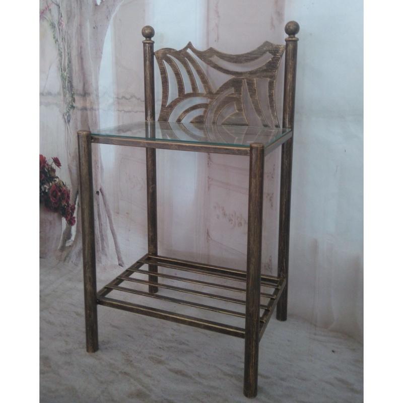 Mesita Pontevedra: Catálogo de muebles de forja de Forja Manuel Jiménez