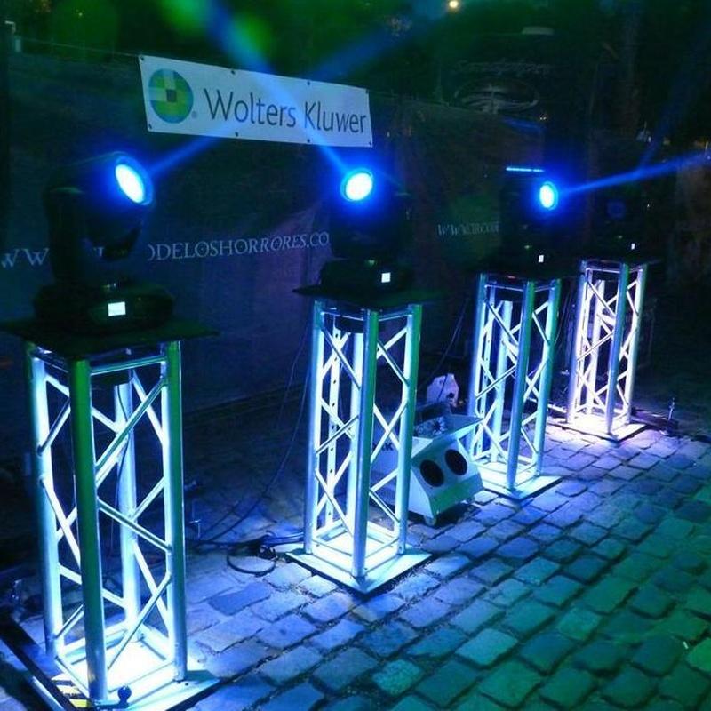 trusses cuadrados: Nuestros servicios de Jukeval Eventos