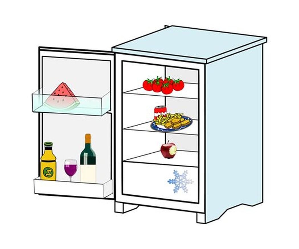 ¿Cómo situar los alimentos en un frigorífico?