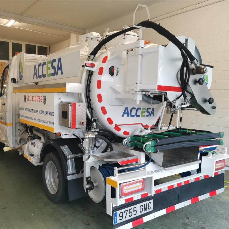 Limpieza de bombeos: Servicios de Accesa Desatascos