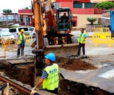 El Ayuntamiento continúa con el reconocimiento geotécnico del subsuelo de la Avenida de Canarias
