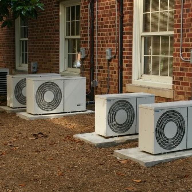 Tipos de equipos de aire acondicionado