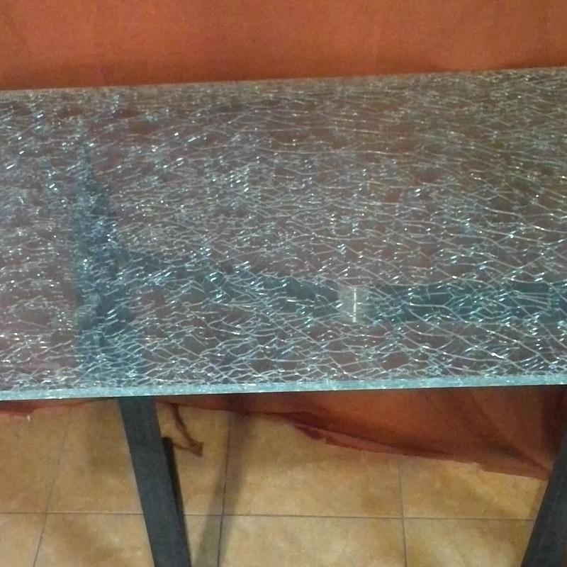 mesa de cristal Madrid