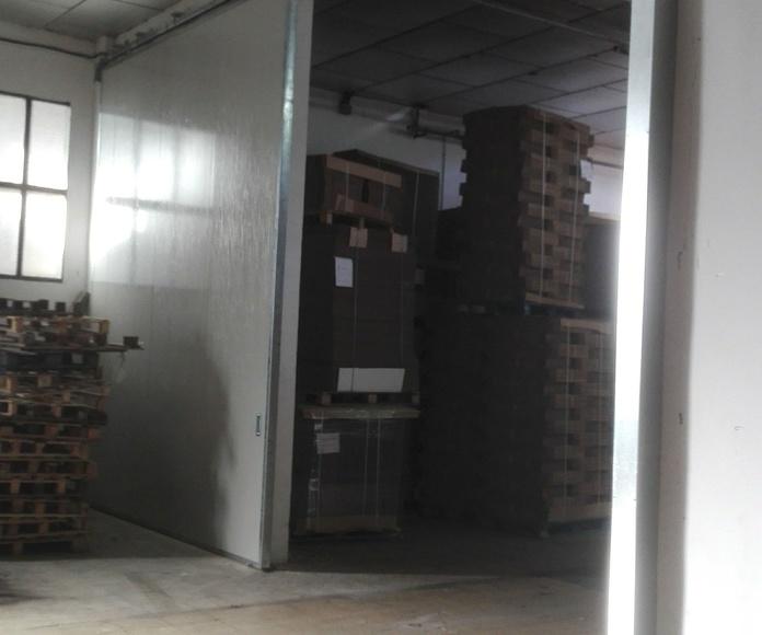 CORREDERA CORTAFUEGOS EI260 1 HOJA 4000X4700 CON FUSIBLE TERMICO Y ELECTROIMAN