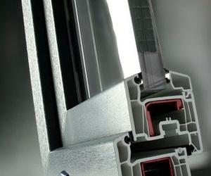 Sistema Softline doble junta 70mm hoja recta