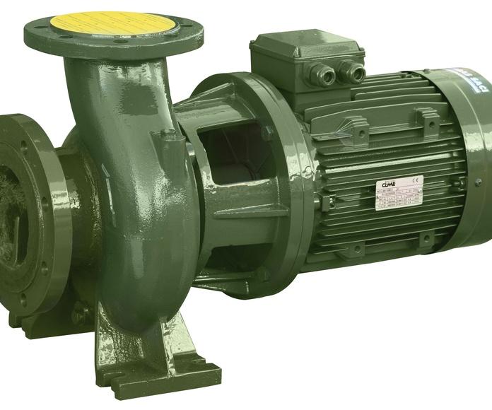 Bomba centrifuga en Madrid