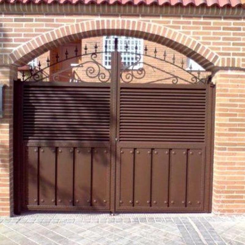 Puerta de carruajes.