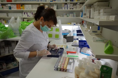 Sistema Personalizado de Dosificación (SPD) de Medicamentos
