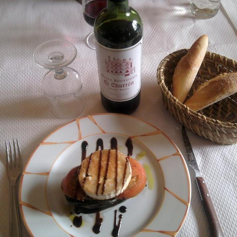 Restaurante: Servicios e Instalaciones de Casa Rural El Churrón