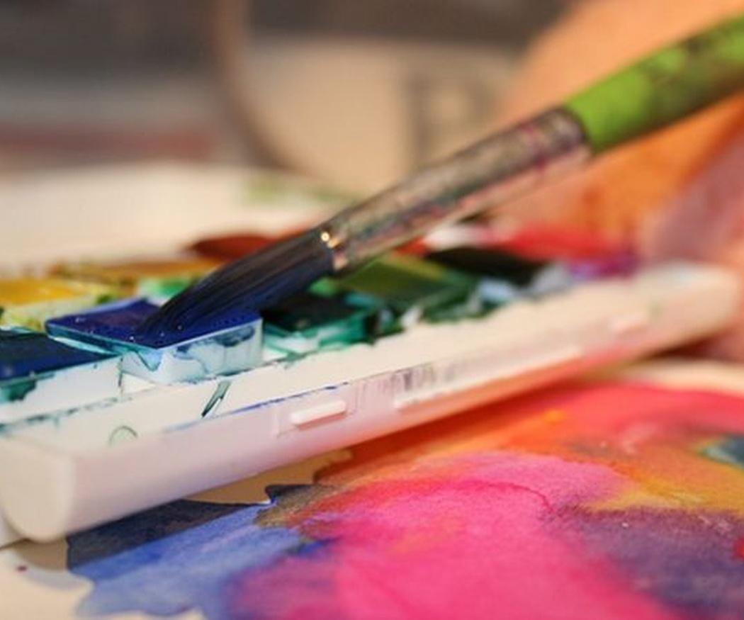 Materiales básicos para pintar con acuarela