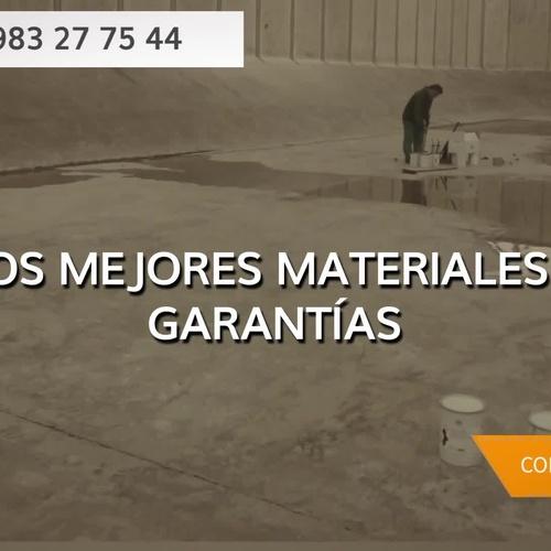 Materiales para impermeabilizar en Valladolid