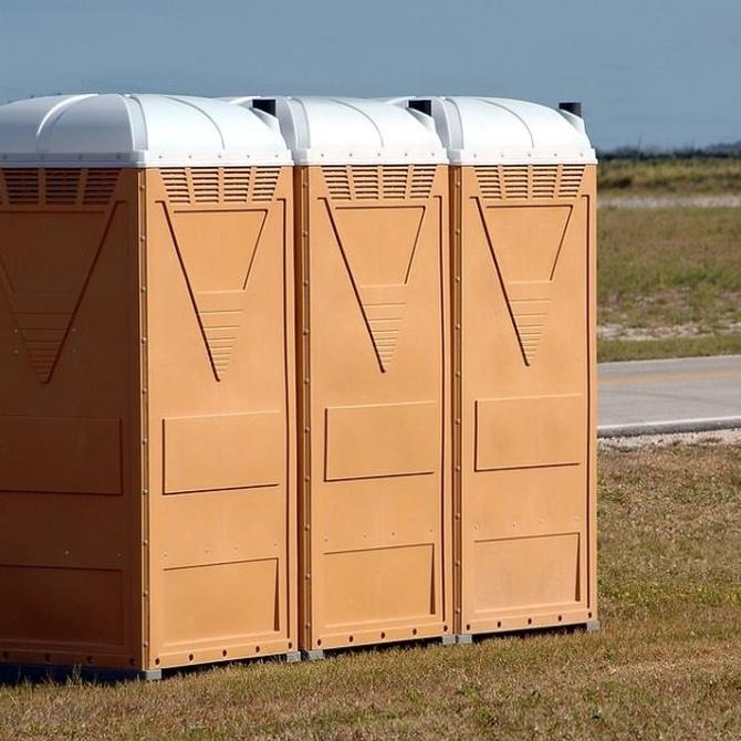 Los baños portátiles consiguen un ambiente más salubre y pueden evitar el contagio de enfermedades