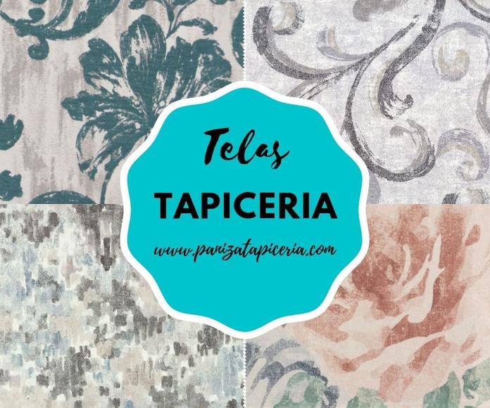 VENTA DE TELAS: PRODUCTOS & SERVICIOS de Paniza Tapicerías