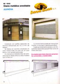 Alunova: Productos y servicios de Construcciones Metálicas Enrique Barrio, S. L.