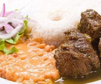 Desayunos peruanos y españoles: Carta de Delicias de mi Rancho
