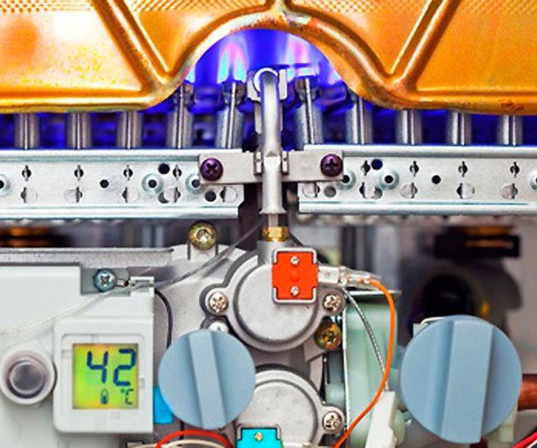 Mantenimiento de la caldera de gas