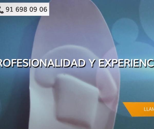Plantillas ortopédicas Madrid sur | Centro de Ortopodología