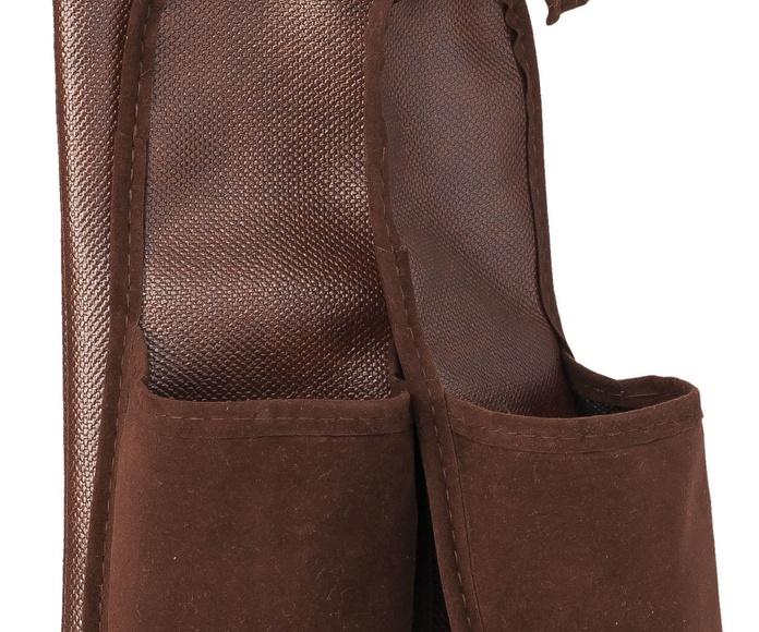 Zapatillas con funda marrón caballero