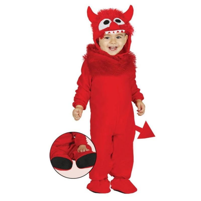 Disfraz demonio monstruo bebé