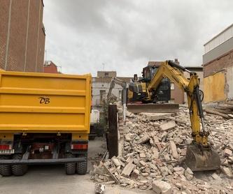 Muros de piedra: Servicios de D. B. Excavacions