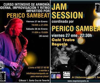 MASTERCLASS + JAMSESSION con PERICO SAMBEAT