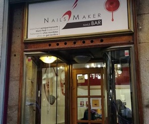Nails Maker ubicado en el centro de Madrid, en pleno Barrio de las Letras