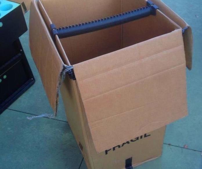 Embalajes: Servicios de Mudanzas Carretero