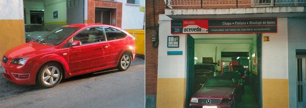 Talleres de chapa y pintura en Madrid | Talleres Acevedo