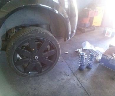 Intercooler, reprogramación y muelles nuevos Renault Megane