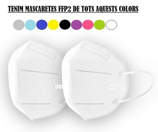 MASCARETES FFP2 DE COLORS
