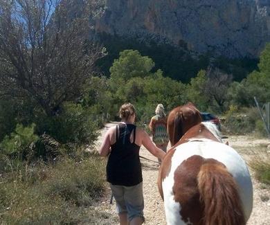 El NaturCoaching y Coaching con Caballos (Alicante-Polop)