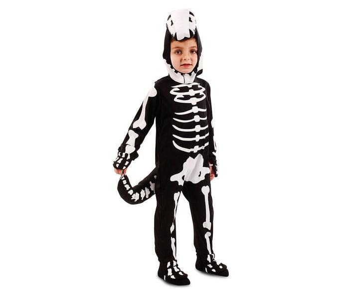 Disfraz dinosaurio esqueleto
