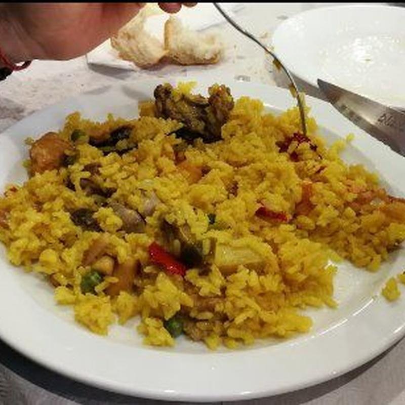 Arroces y paellas: Cocina casera de Restaurante El Cocinero