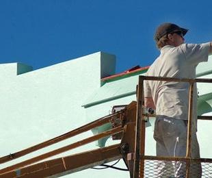 Pintura de exterior