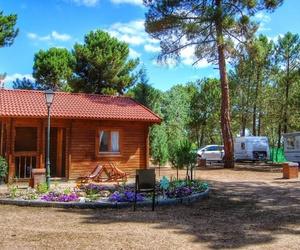 Camping en entorno natural en Segovia