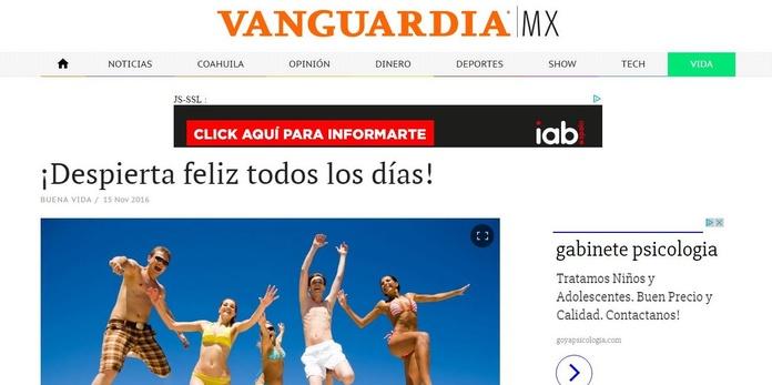 Nueva colaboración para El País y La Vanguardia