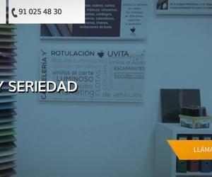 Rótulos para tiendas en Rivas Vaciamadrid | Uvita Print