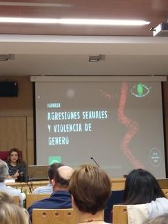 PsicoJaén acude a las Jornadas sobre Agresiones Sexuales y Violencia de Género