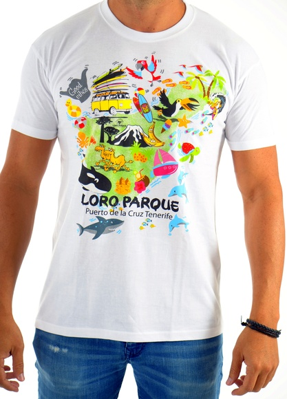 Camiseta Hombre Isla Mágica / Magic Island Man´s T-Shirt: Productos de BELLA TRADICION