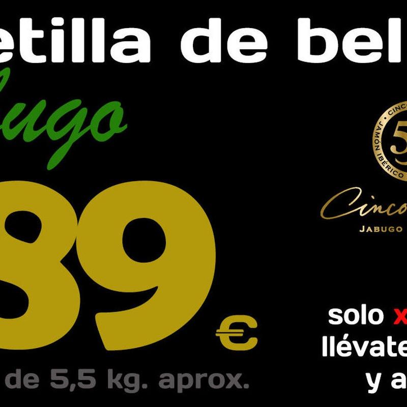 Paletilla Iberica de Bellota Cinco Jotas:  de Sergivan-Mar