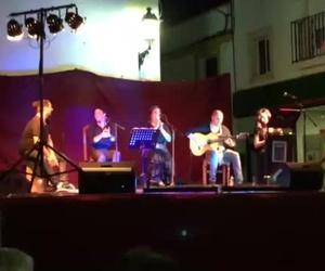 Flamenco ,noche lunática en Almodóvar del rio Cordoba.