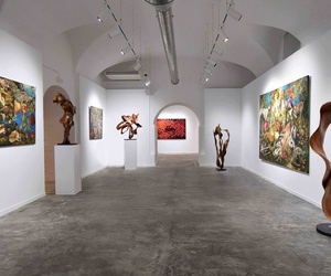 Espacio Villa del Arte | Galería de arte y sala de exposiciones en el gótico de Barcelona | Sala Corvengi